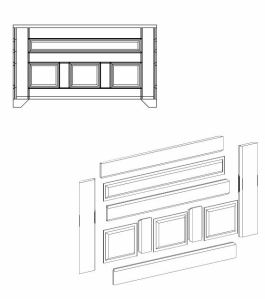 Blanket Chest CAD Design 2