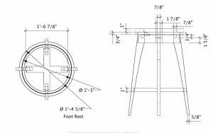 Stool Dimensions